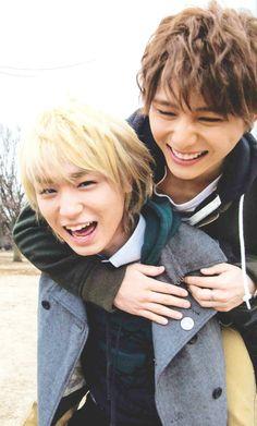 Yamada Ryosuke + Inoo Kei