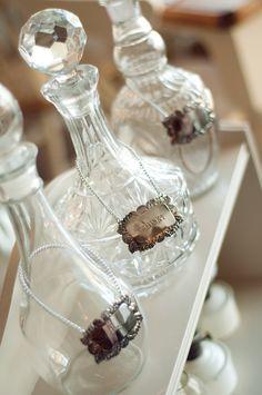Vintage decanters @ Rosie Loves Vintage.  PLEASE LIKE- www.facebook.com/HaylingStudio