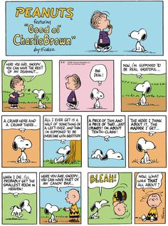 Classic Peanuts - 3/15/15 - Originally appeared 3/17/68