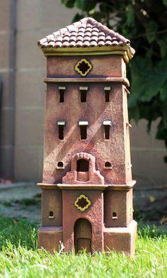 Tower #4   Harry Tanner Design Illuminated ceramic sculpture