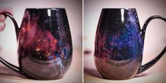 These Galaxy-Inspired Mugs Let You Drink From the Stars