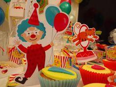 Cupcakes, Personajes Circenses,Candy Bar