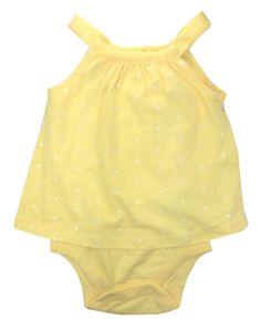 925e33ffbc5 Gap Baby Girls Romper Bodysuit Little Sunshine Sleeveless Yeallow 6-12  Months Baby Girl Vest