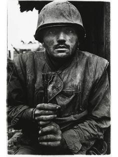 Taken by war photographer Don McCullin. Vietnam 1968