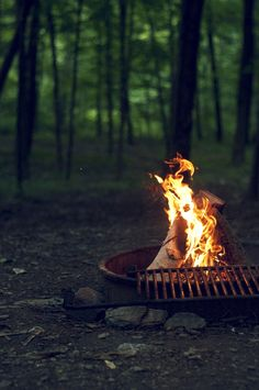 Campfires are one of my favorite things.