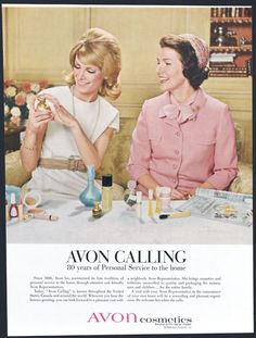 Vintage ad from Avon! Some of these are so good!  #vintage #avon