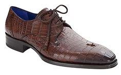 Mezlan Men's Giotta Sport Genuine Alligator Oxford Dress Shoe