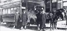 Paardentram Kralingen. Pakweg honderd jaar geleden hadden we deze tram kunnen nemen, vanaf Kralingen via het Oostplein naar Station Beurs en verder...