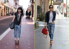 boyfriend jeans fashion bloggers inspiration