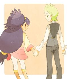 Iris and Cilan. they're such a cute pair!!!