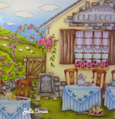 Romantic country by Eriy Colored by Julie Bouve