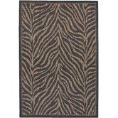 Found it at Wayfair - Recife Black Zebra Indoor/Outdoor Area Rug