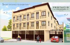 Elegant Metro Manila Properties: Protacio Townhomes Preselling Townhouse for Sale i. Makati, Manila, Townhouse, Multi Story Building, Elegant, Classy, Terraced House, Chic
