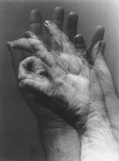 Endre Rozsda: Hands II, 1968 (Hungarian Museum of Photography)