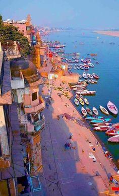Travel Maps, India Travel, Travel Usa, Places To Travel, Places To Visit, Tourist Places, Travel Destinations, Yoga Studio Design, Varanasi