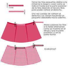 falda envolvente