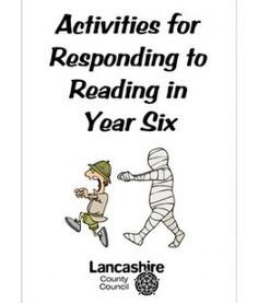 Activities for Responding to Reading in Year 6