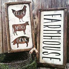 "French Country Cross /""God Is Good/"" Custom Handmade In USA Urban Farm Wall Decor"