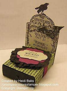 @Kendra Henseler Bohnet hey! What if you did something like this. wrap the box in a ribbon with a bowlike-label on it in your colors.