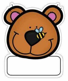 Etiquetas oso