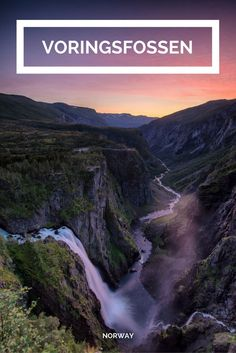 Vøringsfossen, probably the most famous waterfall in Norway , Tattoo Stavanger, Lofoten, Famous Waterfalls, Reisen In Europa, Visit Norway, Cool Landscapes, Winter Travel, Travel Abroad, Travel Goals