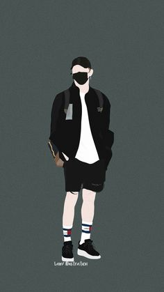 Boy Illustration, Character Illustration, Mode Streetwear, Streetwear Fashion, Hipster Haircuts For Men, Cover Wattpad, Bts Anime, Joker Images, Boy And Girl Cartoon