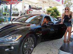 Lindsay Lohan and her World Ending 2011 Maserati Gran Turismo Coupe   Autobytel.com