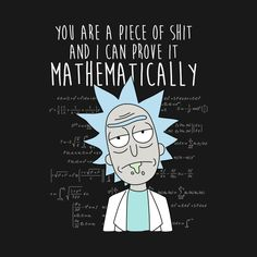 Wallpaper Iphone Funny Check out this awesome 'Mathematically' design on Iphone Wallpapers is part of Rick and morty quotes - Check out this awesome 'Mathematically' design on Source by Rick And Morty Quotes, Rick And Morty Poster, Wallpaper Science, Cartoon Wallpaper, Eye Quotes, Funny Quotes, Funny Memes, Desenhos Halloween, Rick And Morty Drawing