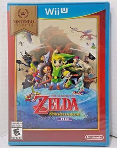 WIIU ACTION-NINTENDO SELECT: LEGEND OF ZELDA: THE WIND WAKER HD WII U NEW  #Nintendo