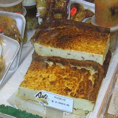 Traditional Lithuanian Potato Pudding Recipe - Kugelis or Bulviu Plokstainis: Lithuanian Kugelis