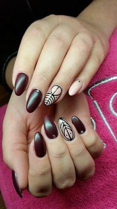 by Paulina Junger Indigo Young Team - Find more inspiration at www.indigo-nails.com #nailart #nails #indigo #matt