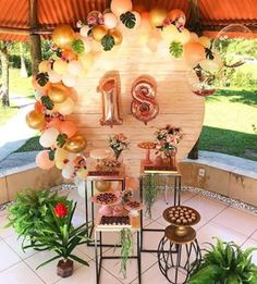 Tips and Trick on Birthday Party Ideas 18th Birthday Party, Summer Birthday, Flamingo Party, Balloon Decorations, Birthday Party Decorations, Tips And Tricks, D House, Tropical Party, Its My Bday