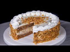 Ellenállhatatlan! - Grillázs torta (Szécsi Szilvi) - YouTube Vanilla Cake, Tiramisu, Ethnic Recipes, Youtube, Food, Essen, Meals, Tiramisu Cake, Youtubers