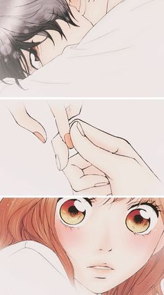 Find images and videos about love, couple and anime on We Heart It - the app to get lost in what you love. Futaba Y Kou, Futaba Yoshioka, Best Shoujo Manga, Anime Manga, Romantic Comedy Anime, Ao Haru Ride Kou, Miraculous, Blue Springs Ride, Pretty Drawings