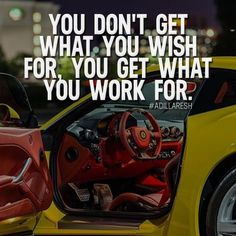You don't get what you wish for, you get what you work for. Like and comment if you agree! ➡️ @nowplayingmusik for more!