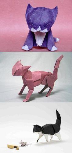 Origami Cats.
