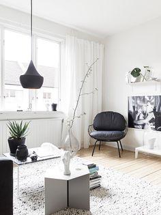 monochrome living room styling Johanna Bagge