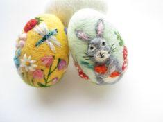 Easter EggFelted EggNeedle felted OrnamentSpring