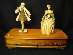 Vintage Anri Victorian Couple Reuge 36 Note Music Box Italian Swiss Made H | eBay