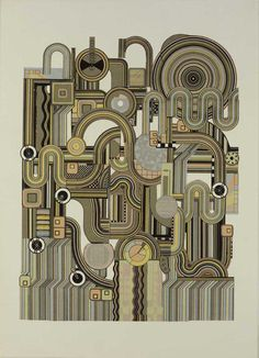Eduardo Paolozzi Catalogue for Harmony, 1974 Pop Art, Andy Warhol, Eduardo Paolozzi, Art Gallery, A Level Art, Gcse Art, Paintings I Love, Cultura Pop, Graphic Art