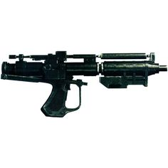 Blaster Rifle ❤ liked on Polyvore featuring weapons and star wars