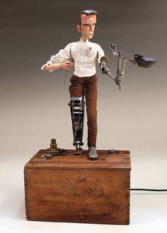 The Automata Blog: Automaton-artist Tom Haney announces amazing new web site and portfolio