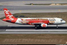 AirAsia Airbus A320-216 @ HKG