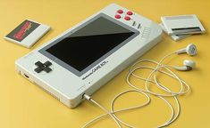German designer Florian Renner imagined a new concept of the iconic Nintendo Game Boy. To do it he retakes characteristic elements of the first console released Nintendo 3ds, Super Nintendo, Nintendo Consoles, Nintendo Switch, Games Consoles, Nintendo Systems, Gameboy Games, Wii U, Game Boy Advance