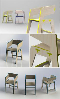 Tee Chair by Thiago Viana and Lucas Couto