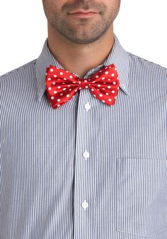 Ties and Dolls Bow Tie | Mod Retro Vintage Men's Accessories | ModCloth.com
