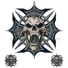 skull iron cross tattoo - Google Search