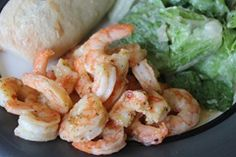 Lemon Italian Shrimp (15 minute dinner)