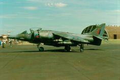 Harrier GR3 XZ129 06 Air Force Aircraft, Fighter Aircraft, Fighter Jets, Military Jets, Military Aircraft, British Aerospace, Close Air Support, Royal Air Force, Modern Warfare