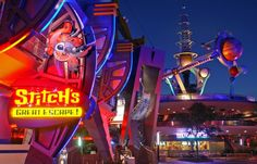 disney world stitch's great escape   Stitch, the furry blue star of the 2002 feature Lilo and Stitch , took ...